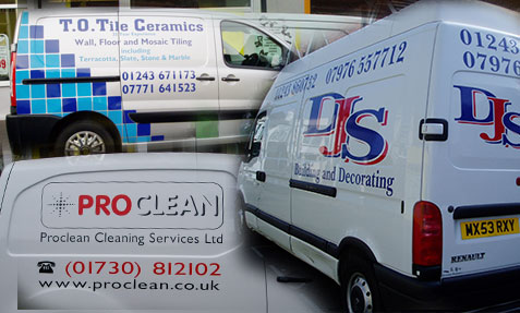Vehicle graphics made easy by Signquick Bognor Regis
